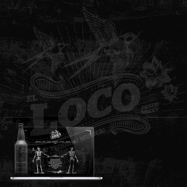 Sort i sort til Loco
