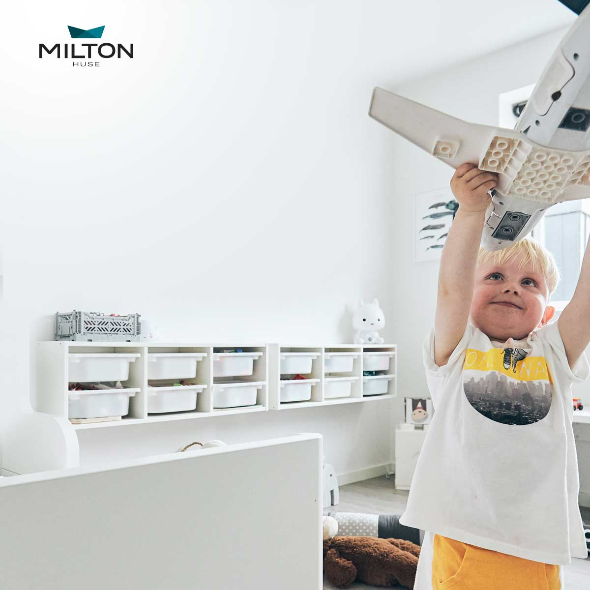Milton Huse giver inspiration til nybyggere