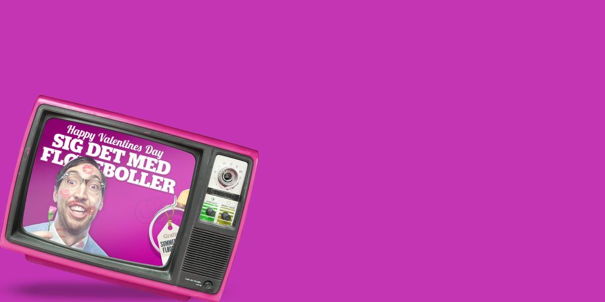 Reklamefilm og videoer<br>til web