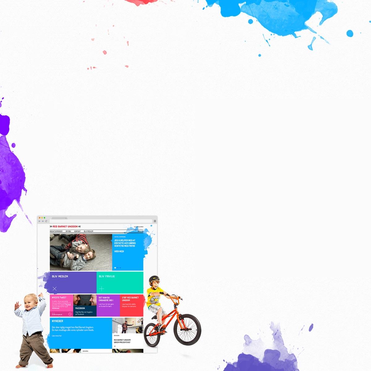 Ny visuel profil til Red Barnet Ungdom