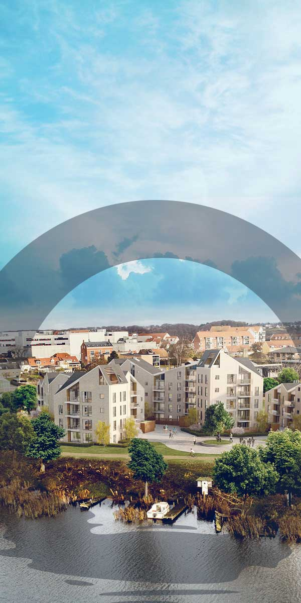Branding af nyt byggeri i Skanderborg