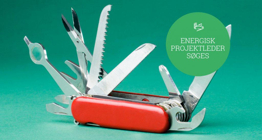 Vi søger en energisk og struktureret projektleder