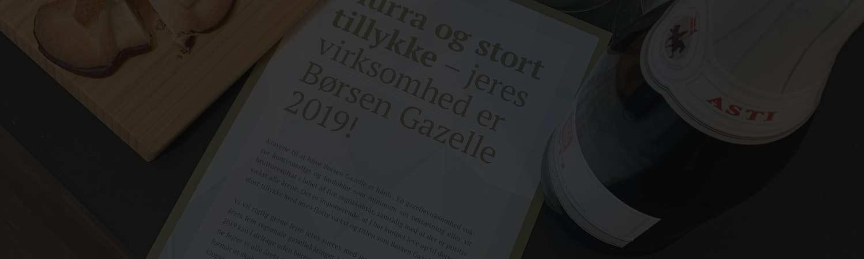 Grobowski får gazelle