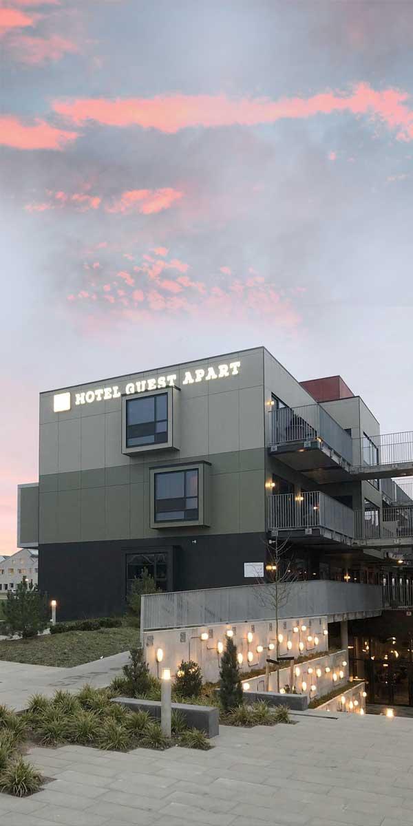 Visuel profil til<br>nyt hotel i Aarhus