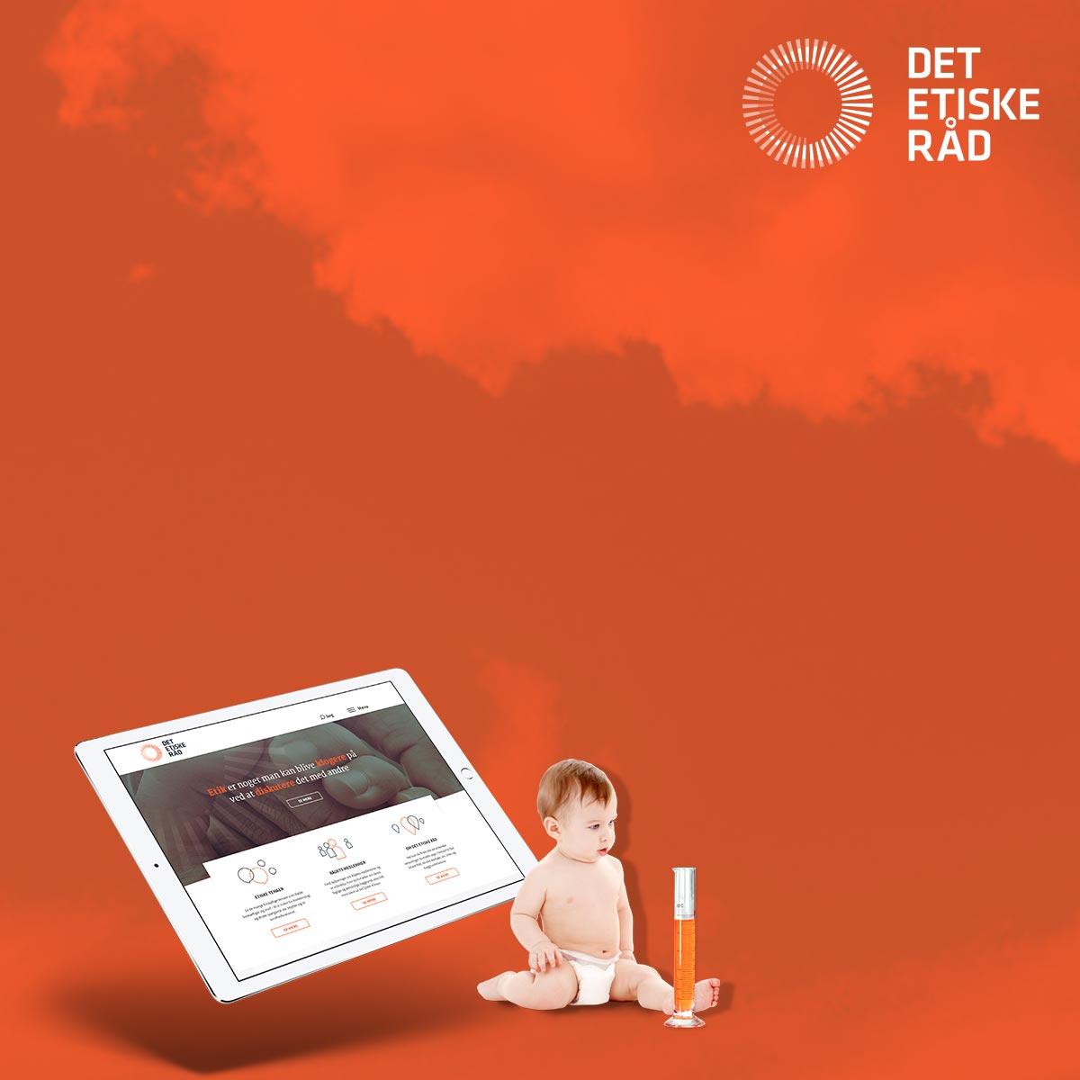 Stærk visuel identitet og hjemmeside til Det Etiske Råd